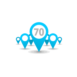 70 implementations